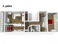 2. patro (Prodej bytu 4+1 v osobním vlastnictví 103 m², Praha 5 - Stodůlky)