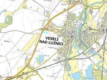 Prodej pozemku 2655 m², Veselí nad Lužnicí
