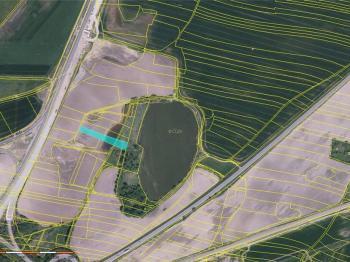 Prodej pozemku 1067 m², Vesce