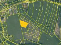 Prodej pozemku 1440 m², Radimovice u Želče