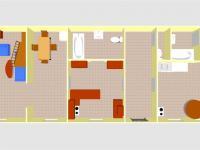 půdorys přízemí - Prodej domu v osobním vlastnictví 190 m², Sezimovo Ústí