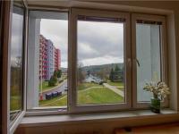 Výhled z okna  - Prodej bytu Garsoniéra v družstevním vlastnictví 30 m², Tábor