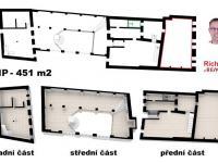 Pronájem obchodních prostor 99 m², Pelhřimov