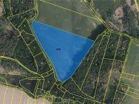Pozemek parc.č. 818 - Prodej pozemku 120821 m², Nemyšl