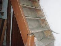 zádveří - schody na půdu (Prodej chaty / chalupy 41 m², Pochvalov)