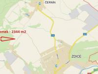 Prodej pozemku 2344 m², Zdice