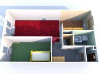 Prodej bytu 2+1 v družstevním vlastnictví, 52 m2, Žatec