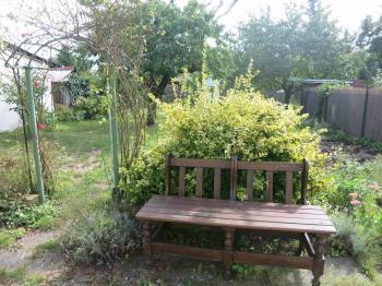 Zahrada v létě - Prodej domu v osobním vlastnictví 160 m², Chomutov