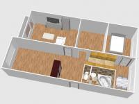 Prodej bytu 3+1 v osobním vlastnictví 78 m², Jirkov