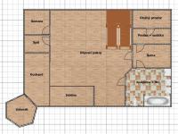 projekt - podkroví  (Prodej domu v osobním vlastnictví 600 m², Vejprty)