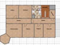 půdorys 1.patro 1 (Prodej domu v osobním vlastnictví 600 m², Vejprty)
