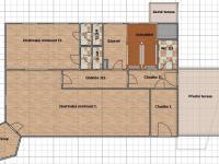 půdorys přízemí 1 (Prodej domu v osobním vlastnictví 600 m², Vejprty)