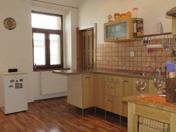 kuchyně 1.patro  - Prodej domu v osobním vlastnictví 600 m², Vejprty