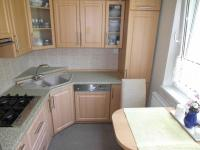 kuchyňská linka vč. veškerých spotřebičů součástí prodeje (Prodej bytu 4+1 v družstevním vlastnictví 89 m², Chomutov)