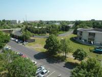 pohled z 1. lodžie (Prodej bytu 1+1 v osobním vlastnictví 44 m², Chomutov)