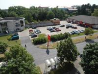 pohled z 2. lodžie (Prodej bytu 1+1 v osobním vlastnictví 44 m², Chomutov)