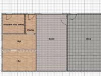 výminek se sklepem, garáží a dílnou (Prodej domu v osobním vlastnictví 100 m², Žatec)