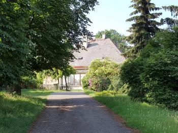 vstup do domu ze zahrady  - Prodej komerčního objektu 3093 m², Chlumčany