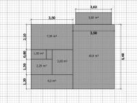 Prodej bytu 1+1 42 m², Louny