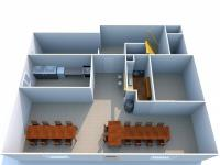 Půdorys přízemí (Prodej domu v osobním vlastnictví 275 m², Krásný Dvůr)