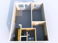 Prodej bytu 2+kk v družstevním vlastnictví 42 m², Most
