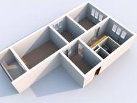Prodej bytu 3+1 65 m², Louny
