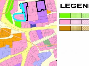 územní plán - Prodej pozemku 1615 m², Žatec