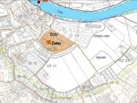 Kanalizace - z územního plánu - Prodej pozemku 13942 m², Žatec