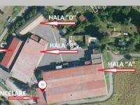Pronájem komerčního objektu 2500 m², Žatec