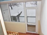 lodžie na mezipatře - Prodej bytu 1+1 v družstevním vlastnictví 36 m², Jirkov