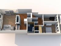 Prodej bytu 3+kk v osobním vlastnictví 72 m², Chomutov