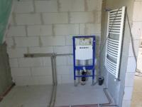 Koupelna - Prodej domu v osobním vlastnictví 320 m², Hrušovany