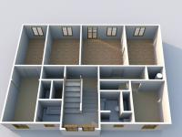 druhé nadzemní podlaží - Prodej domu v osobním vlastnictví 500 m², Žatec