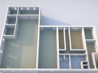 Půdorys přízemí III - Prodej komerčního objektu 6324 m², Modlany