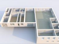 Půdorys - přízemí I - Prodej komerčního objektu 6324 m², Modlany