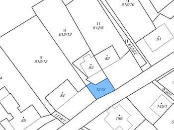 Prodej pozemku 546 m², Chomutov