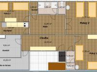 Pronájem bytu 3+1 v osobním vlastnictví, 130 m2, Louny