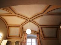 Strop v koupelně - Pronájem bytu 3+1 v osobním vlastnictví 94 m², Smolnice