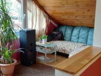 2.NP - obývací kout - Prodej domu v osobním vlastnictví 150 m², Velký Borek