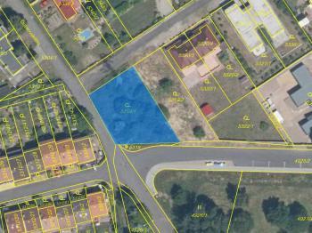 Prodej pozemku 1531 m², Chomutov