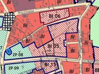 výřez z územního plánu  - Prodej pozemku 1143 m², Vejprty