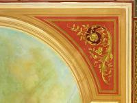 detail stropní fresky (Prodej historického objektu 1200 m², Petrovice)