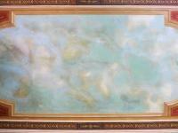 freska nad schodištěm (Prodej historického objektu 1200 m², Petrovice)