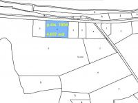 pozemek p.čís. 1954, 4.657 m2 (Prodej pozemku 15680 m², Bílov)