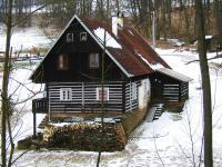 chalupa v zimě (Prodej chaty / chalupy 201 m², Rudník)