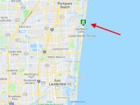 mapa okolí - Prodej bytu 3+kk v osobním vlastnictví 121 m², Fort Lauerdale