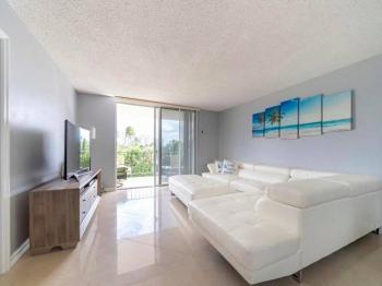 obývací pokoj - Prodej bytu 3+kk v osobním vlastnictví 121 m², Fort Lauerdale