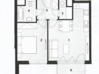 Pronájem bytu 2+kk v osobním vlastnictví 48 m², Praha 9 - Letňany