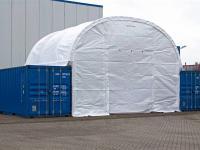 možnost stanové haly s kontejnerem - Pronájem komerčního objektu 76 m², Chomutov