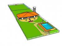 vizualizace - Pronájem domu v osobním vlastnictví 78 m², Rekawa
